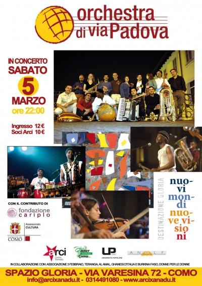 Locandina Orchestra di Via Padova