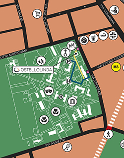 grafica mappa hotel