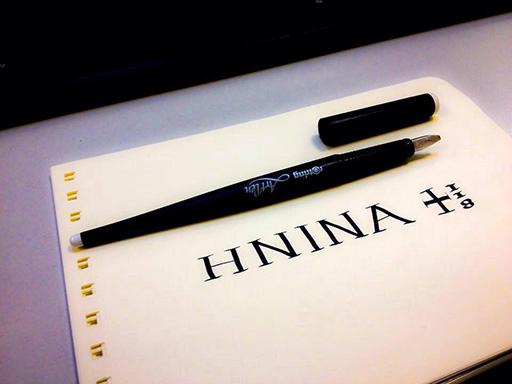 calligrafia onoreficenza