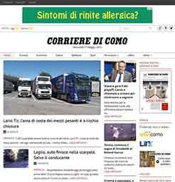 web design sito di informazione