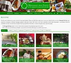 web design alimentazione cibo