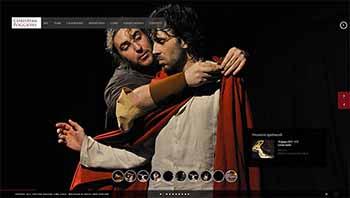 web design sito teatro