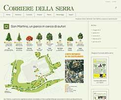 web design sito botanica