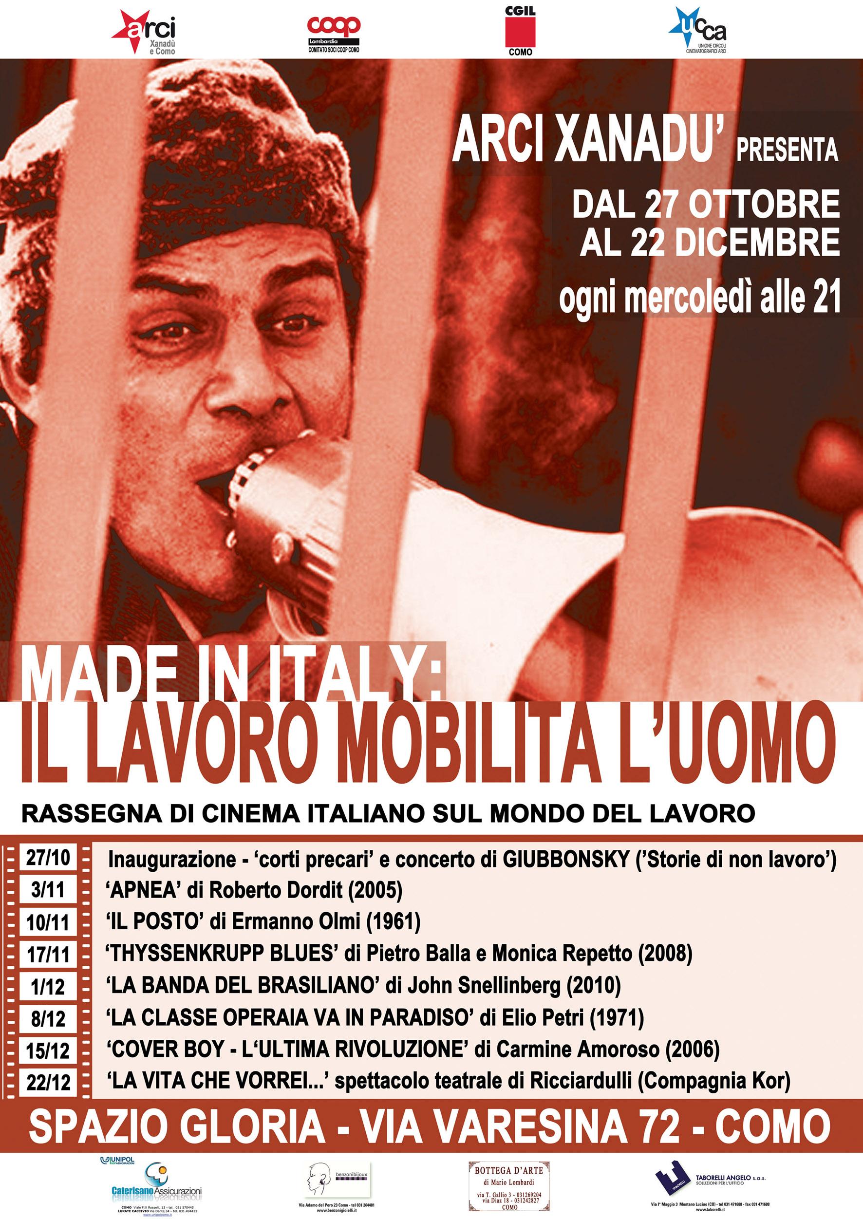 Locandina Made in Italy: Il lavoro mobilita l'uomo